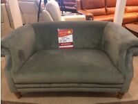 Green/Grey Antique Style 2 Seater Sofa