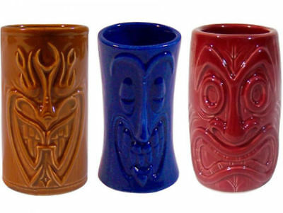 Tiki Mug - Shot Becher 3er Set - Schnapsgläser - Aloha Lets Party