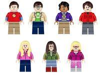 The Big Bang Theory Minifigures.
