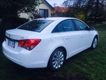 2011(Nov) Holden Cruze, Series II MY12, CDX, manual O'Connor North Canberra Preview