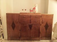 Vintage chest for dining / living room - retro original in Tooting!