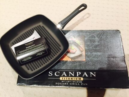 Original Scanpan Square Grill Pan 27cm x 27cm South Windsor Hawkesbury Area Preview