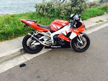 Yamaha r1 long rego Curl Curl Manly Area Preview