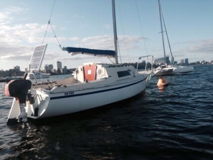 Yacht and mooring Space Sailor 18 foot  located in Matilda Bay   Carlisle Victoria Park Area Preview