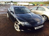 Mazda rx-8 spare parts bonnet bumper gearbox 6 speed