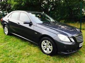 Reduced Mercedes benz E220 2.2 cdi blue efficiency 2009 leather auto