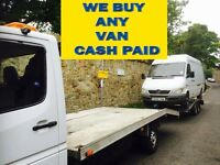 Mercedes Benz sprinter 208d,308d 310d 312d 412d vans wanted