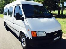 2000 Ford Transit 12 seater Van High Roof 5speed manual White Liverpool Liverpool Area Preview