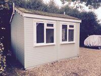 12 ft x 10 ft attractive garden office