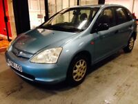 HONDA CIVIC 1.4 VERY RELIABLE RUNNER PEEFECT ENGINE GEARBOX! FIRST TO SEE WILL BUY! BARGAIN!