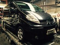 RENAULT TRAFIC SPORTIF 2007-2012 N**bREAKING** ENGINE AND GEARBOX ALSO AVAILABLE