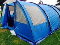 SKANDIKA 6 berth tunnel tent - standing height