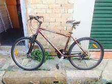 Two (mountain) bicycles, good condition, incl lock & helmet Stanmore Marrickville Area Preview