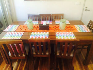 9pc Dinning Table for Sale Westmead Parramatta Area Preview