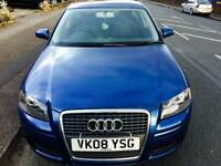 RECUCED Audi a3 1.6 tsi 2008 5 door low mileage px poss credit card accepted