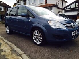 2008 Vauxhall Zafira Design 1.9 CDTI 1 Previous Owner 7 Seats