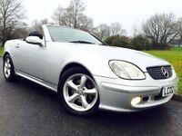Mercedes-Benz SLK 3.2 SLK320 ##AUTO ##SERVICE HISTORY ##ALLOYS ##GREAT VALUE CONVERTIBLE