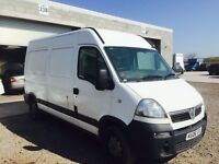 Vauxhall Movano 2005 year Spare Parts Available