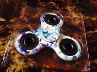Fidget Spinners All colours Available Tri spinner Stress Focus Adhd Camoflague