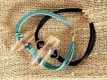 Leather crystal bracelets Bonogin Gold Coast South Preview