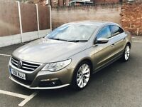 VOLKSWAGEN CC 2.0 TDI BlueMotion Tech GT 4dr (brown) 2011
