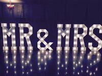 MR & MRS LETTERS/ LED DANCE FLOORS/ ICE CREAM VANS & much more...