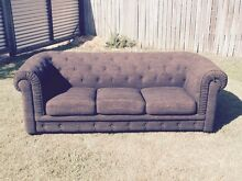 Fabric Chesterfield Couch Carindale Brisbane South East Preview