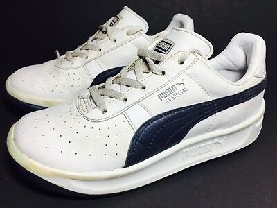 a1ddf152cd2c37 PUMA GV Special Youth Boys Kid White Leather Running Athletic Shoes  Sneakers 1.5