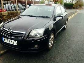 toyota avensis 2.0d4d genuine mileage long mot