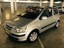 Hyundai Getz 2005 Hatchback Manual Low 97000 Klms Long Rego Dural Hornsby Area Preview