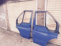 FORD TRANSIT MK 6 FRONT DOORS COMPLETE WITH GLASS