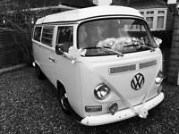 VW Campervan Wedding Car Hire Classic Transport Hertfordshire, Essex & London