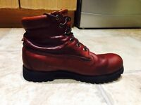 Timberland Brown Leather Boots 10.5 W