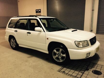 Subaru Forester GT AWD 2001 Wagon 5 Speed Manual Castle Hill The Hills District Preview