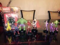 Marvel + DC Eaglemoss Figurines