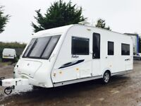 COMPASS RALLYE 554 2009 4 BERTH TOURING CARAVAN (OR SPACIOUS 2 BERTH) 2010 MODEL