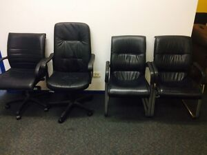 4 office boardroom chairs $25 each or can bundle Biggera Waters Gold Coast City Preview