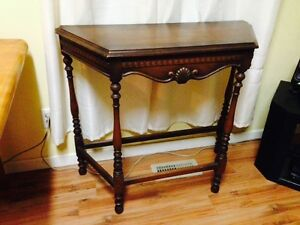 "Nice Antique Hall Table, 36"" x 14"" x 32"""