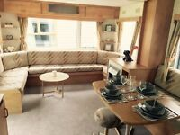 cheap static caravan for sale in newquay near the sea on great park with all fees included