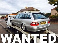 WANTED!!! MERCEDES C220 & C320 & C270 & E270 DIESEL CARS!!!