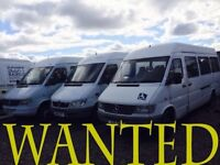 Mercedes sprinter Vito va n wanted!!!