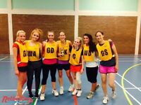 Competitive netball league in Clapham