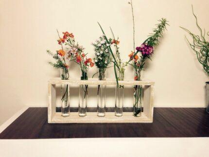 Rustic test tube flower vase Daglish Subiaco Area Preview