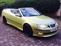 Saab 9-3 2.0 Turbo Aero Convertible - audi bmw vw merc 93 ford golf 330 honda seat porsche jaguar
