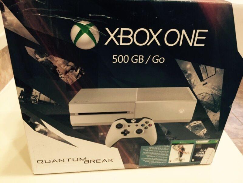 Microsoft Xbox One Special Edition Console Quantum Break Bundle Cirrus White 5C7-00215