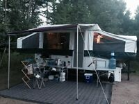 2008 Pop out Tent Trailer Real-Lite Palomino