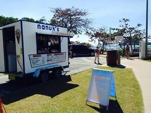ICE CREAM AND HOT DOG BUSINESS AT PALM COVE BEACH Cairns North Cairns City Preview