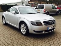 Audi TT Coupe ,Low miles, only 89k,Full Service History,cambelt and water pump changed