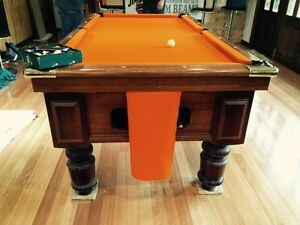 Pool Table Recloth, Rerubber, Removal and Storage. Moorabbin Kingston Area Preview