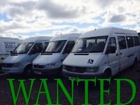 WANTED!!!! MERCEDES SPRINTER & MERCEDES VITO ANY CONDITION